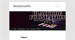 Preview of blackdogfoundation.org