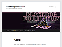 Tablet Preview of blackdogfoundation.org